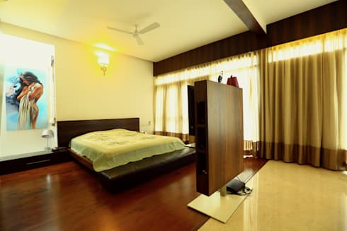 Master Bedroom: modern Bedroom by Space Trend