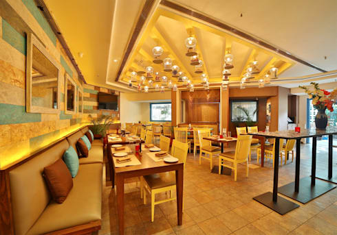 tabula hauz khas: modern Dining room by Total Interiors Solutions Pvt. ltd.