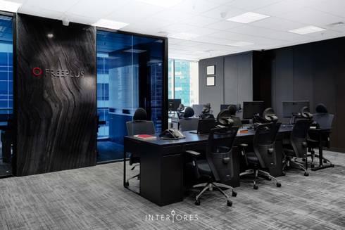 Freeplus - Indonesia Representative Office:  Kantor & toko by INTERIORES - Interior Consultant & Build