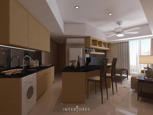 The Mansion - Kemayoran:   by INTERIORES - Interior Consultant & Build