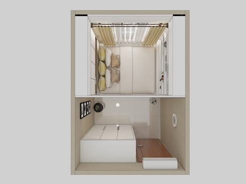 Floor Plan:   by INTERIORES - Interior Consultant & Build