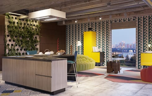 Cucine moderne par Abita design srl / Paolo Vindigni | homify