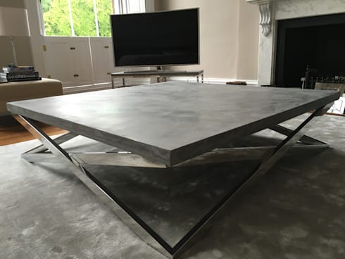 Polished Concrete Coffee Table By Daniel Polished Concrete