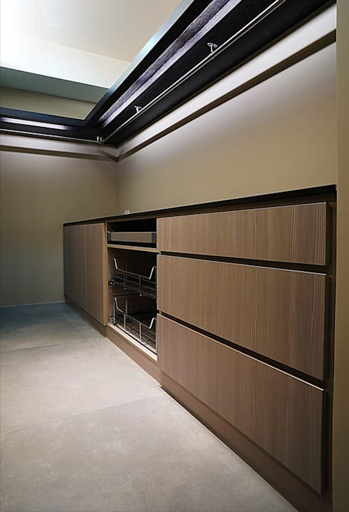 全室案例-新北市林宅:  臥室 by ISQ 質の木系統家具
