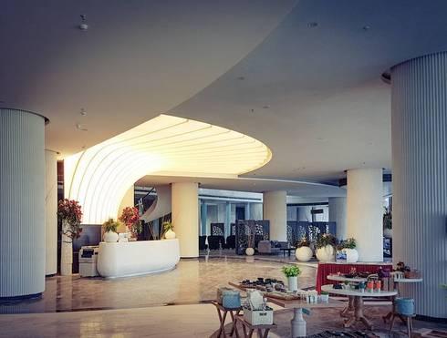 Khu vực tiếp tân :  Khách sạn by TRẦN XUYÊN SÁNG VẠN HOA