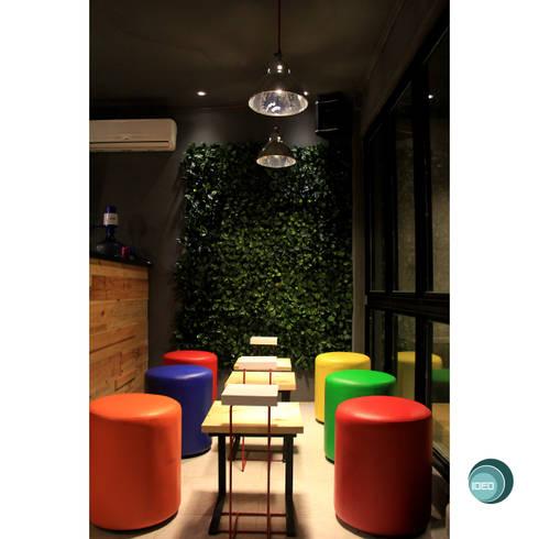 Oro Colato – Gelato and Bar:  Dinding by IDEO DESIGNWORK