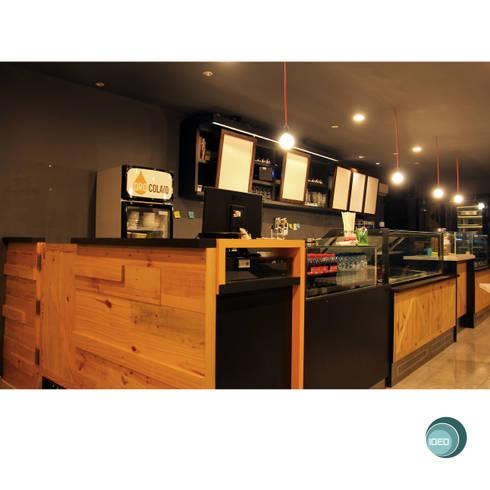 Oro Colato – Gelato and Bar:  Ruang Kerja by IDEO DESIGNWORK