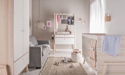 Kinderzimmer baby  Gavle GmbH: Kinderzimmer Larsen | GAVLE | homify