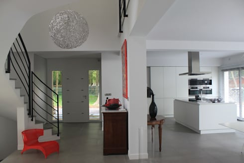 Maison contemporaine Chantilly von SG CONCEPT Décoration d ...