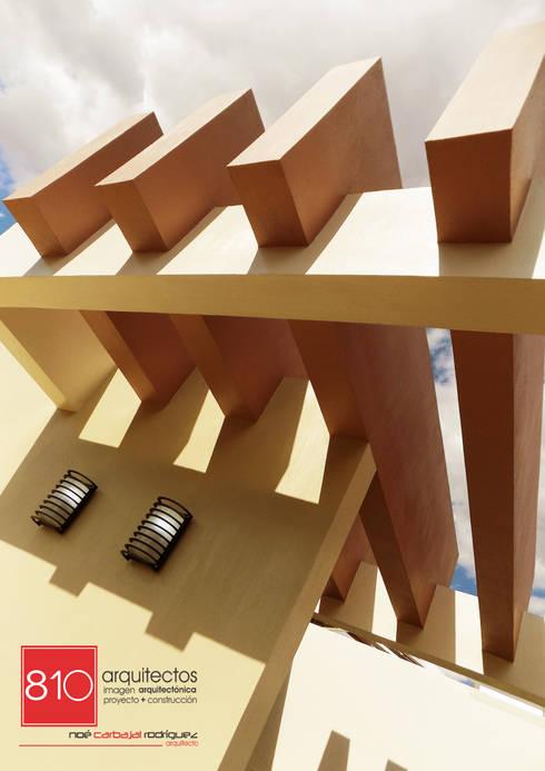 Terrazas de estilo  por 810 Arquitectos