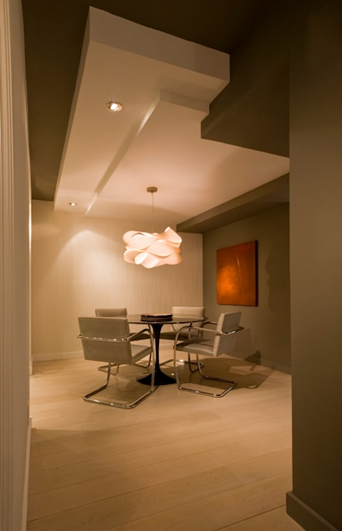 Flat in McLean, VA: modern Dining room by FORMA Design Inc.