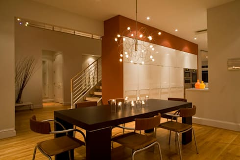 Lake Barcroft Residence: modern Dining room by FORMA Design Inc.