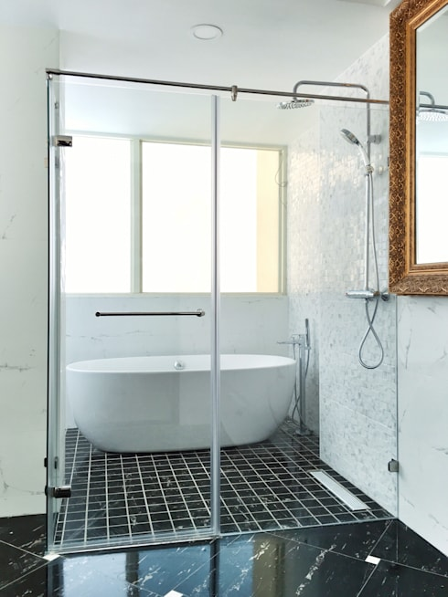 H7200:  浴室 by 中圓泰 / 淋浴拉門