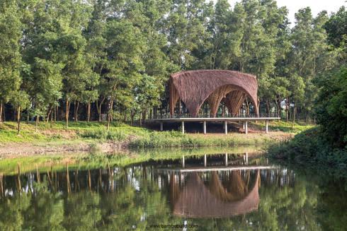 Gian triển lãm Flamingo:  Trung tâm triển lãm by BAMBU