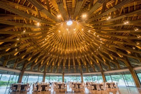Nhà hàng tre Serena (Serena bamboo restaurant):  Nhà hàng by BAMBU