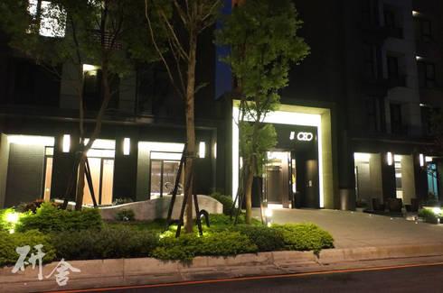 新北-美學CEO景觀及公設設計:  房子 by 研舍設計股份有限公司