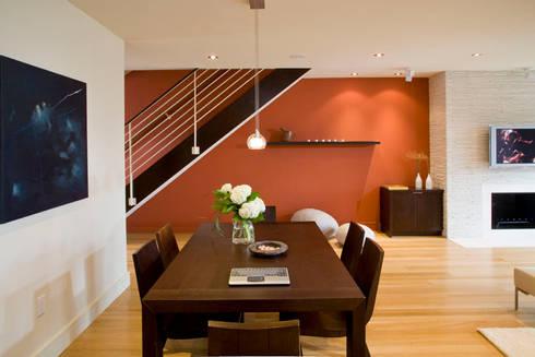 Zen Modern 2.0: modern Dining room by FORMA Design Inc.