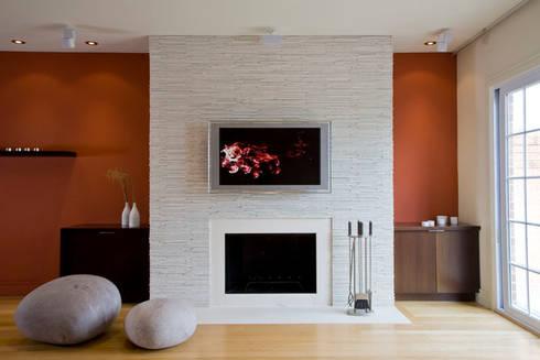Zen Modern 2.0: modern Living room by FORMA Design Inc.