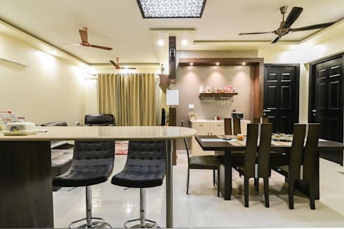 Two BHK—Whitefield: classic Dining room by Wenzelsmith Interior Design Pvt Ltd