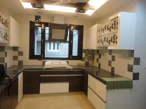 Residential Project:  Built-in kitchens by Art of Interior