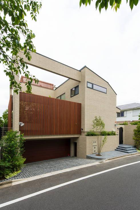 Projekty,  Dom jednorodzinny zaprojektowane przez TERAJIMA ARCHITECTS