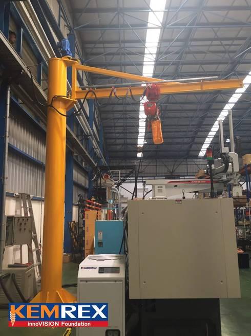 งานฐานราก Hoist Crane คุณวัชรกรณ์:   by บริษัทเข็มเหล็ก จำกัด