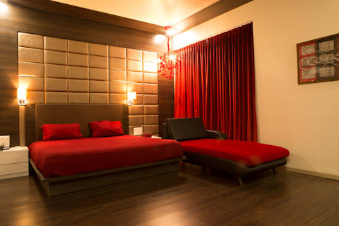 Bungalow- Lavasa: modern Bedroom by Aesthetica