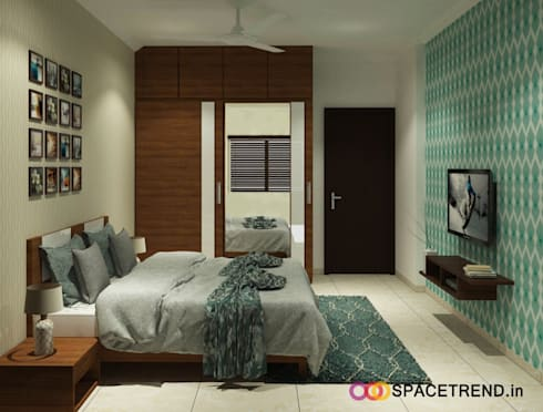 Prestige Tranquility: modern Bedroom by Space Trend
