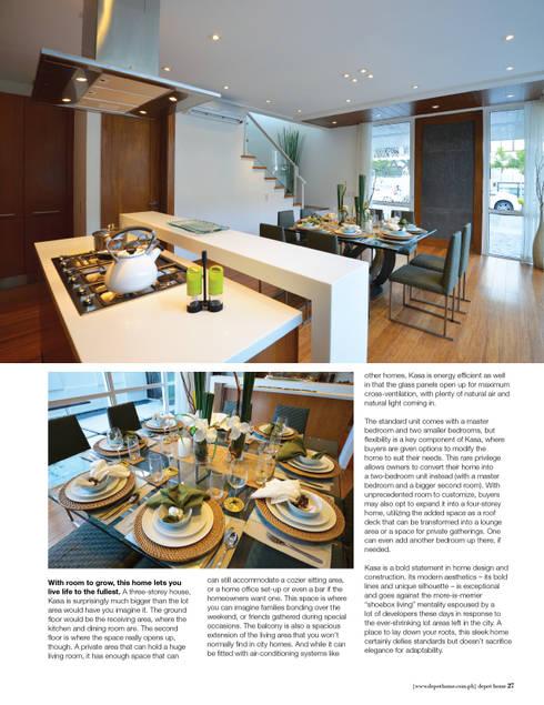 KASA:  Built-in kitchens by Marilen Styles