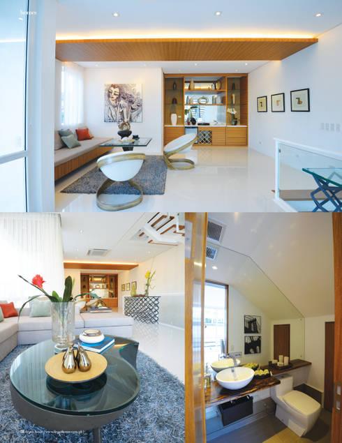 KASA: tropical Living room by Marilen Styles