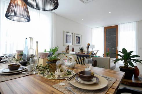 KASA: asian Dining room by Marilen Styles