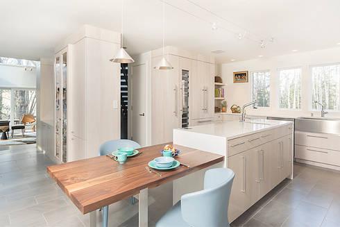 Dutchess County Residence, Amenia, NY: modern Kitchen by BILLINKOFF ARCHITECTURE PLLC
