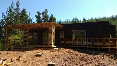 PROYECTO LOFT HOME TUNQUEN :  de estilo  por Constructora Montgreen Ltda.