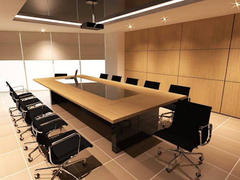 Amigo office Silom:  ตกแต่งภายใน by Ps.studio Design
