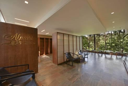 Almari- Shop and Library - Entrance:  Hotels by Studio - Architect Rajesh Patel Consultants P. Ltd