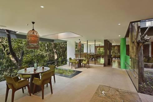 Baalelle Restaurant- DIning Area:  Hotels by Studio - Architect Rajesh Patel Consultants P. Ltd