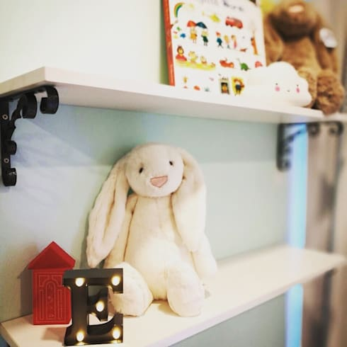 Project @ The Bently Residences: scandinavian Nursery/kid's room by ab1 Abode Pte Ltd