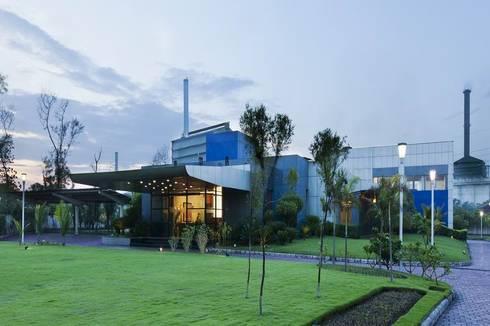 Exterior :  Office buildings by Studio - Architect Rajesh Patel Consultants P. Ltd