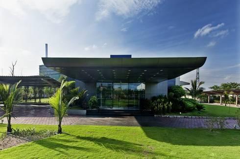 Office Complex:  Office buildings by Studio - Architect Rajesh Patel Consultants P. Ltd