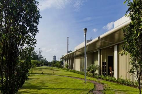 Exterior View:  Office buildings by Studio - Architect Rajesh Patel Consultants P. Ltd