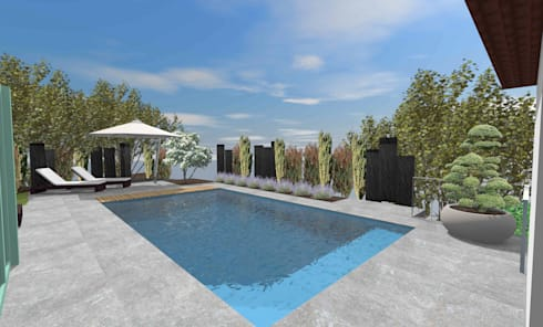 Jardins Modernos Por Lifestyle U0026 More By Lyke Gschwend   Atelier Für Garten  U0026 Landschaftsdesign