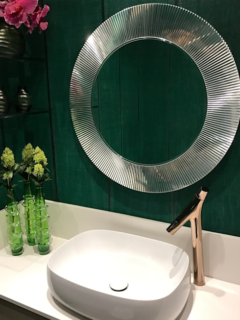 Guest Bathroom:   by Karen Robert
