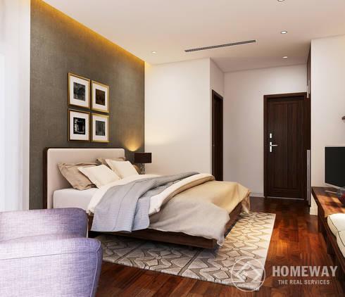Phòng ngủ:  Phòng ngủ by HOMEWAY
