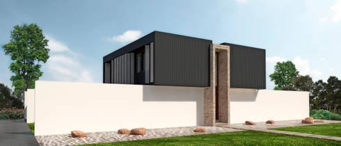 Casa Evolución 01: Casas unifamiliares de estilo  por NEF Arq.