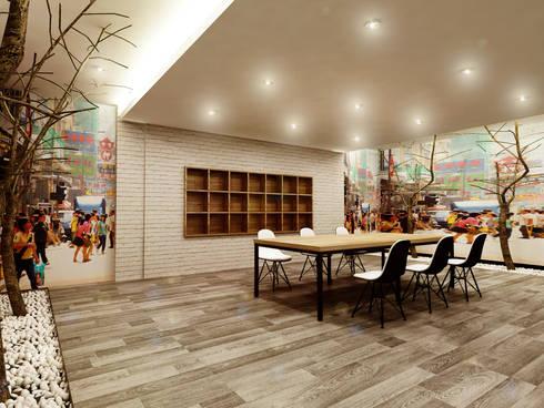 Office Print World:  Kantor & toko by samma design