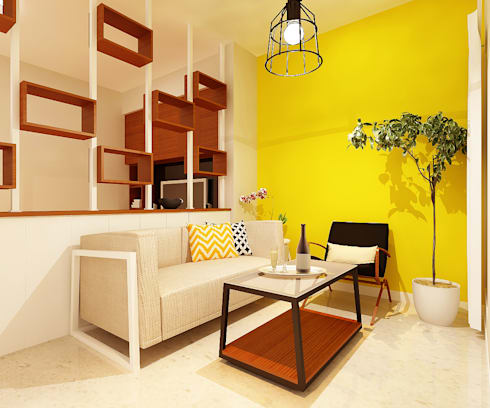 Rumah Tinggal Bpk Arif:  Ruang Keluarga by samma design