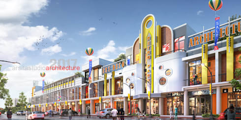 Normal View 2:  Kantor & toko by ARSITA STUDIO architecture