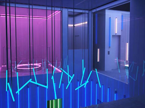 Photorealistic 3D Model of a Night Club's Interiors:   by Hi-Tech CADD Services