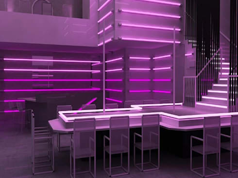 High quality photo realistically rendered model of the proposed night club:   by Hi-Tech CADD Services