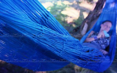 Hamaca King Size/ King Size Hammock: Jardín de estilo  por Makamah